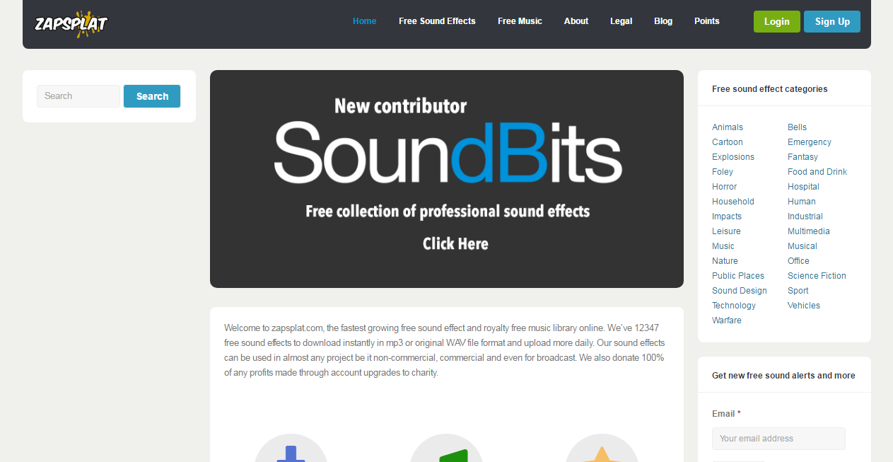 free sound effects wav files download